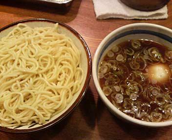 あつもり(温麺)