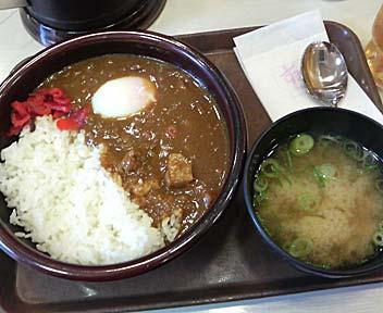 すき家 高田馬場店/特製カレー(並盛)+おんたま