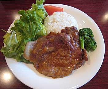 fast-slow food : HARU/ポークジンジャーセット