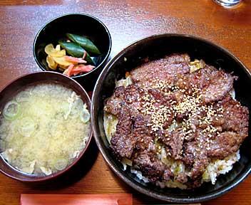 キッチン谷沢/kitchen TANIZAWA/サービスランチ ステーキ丼
