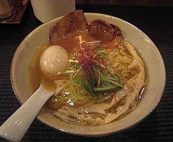 麺屋 sou 宗/地鶏味玉そば