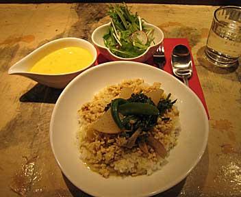 French Lunch MAKANAI/キュリ・ド・ジュール(タイ風カレー)