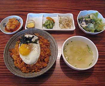 豚焼肉専門 本格韓国料理 ヤンバン家2号店 豚才/キムチチャーハン