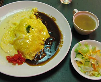 洋風居酒屋 ロマーノ/トロトロ卵のオムライス
