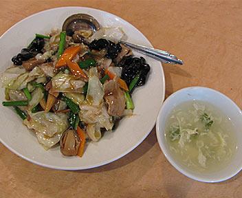 龍高飯店 担々麺房 高田馬場店/豚肉と野菜のうま煮丼