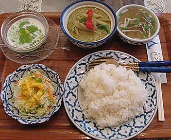 タイ料理店 バンコク/グリーンカレー