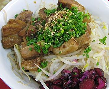 豚バラ肉チャーシュー飯