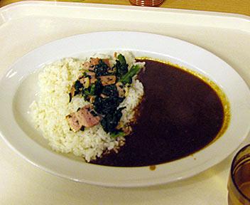 Curry Kitchen カレキチ 早稲田店/ほうれん草ベーコンカレー