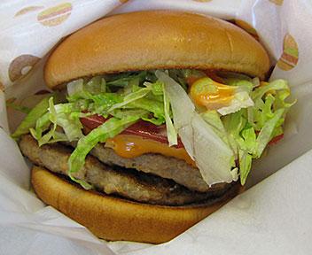 モスバーガー・MOS BURGER/W(ダブル)サウザン野菜バーガー