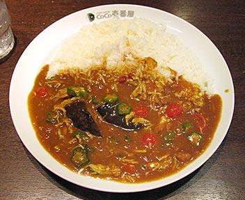CoCo壱番屋 高田馬場店/チキンと夏野菜カレー