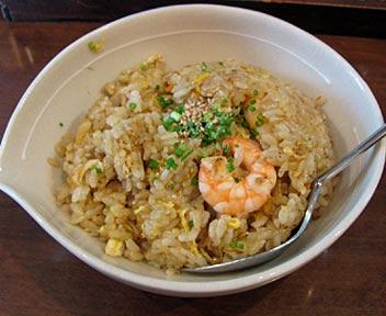 中国厨房 一番飯店/海老チャーハン+ミニラーメン