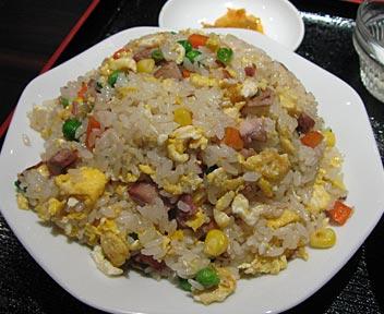 中華料理 天一房/叉焼炒飯+半ラーメン
