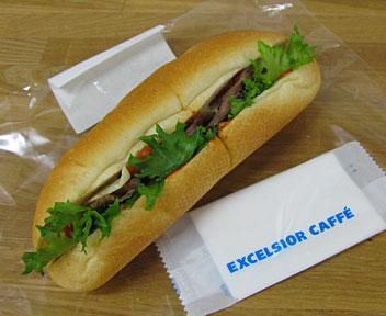 EXCELSIOR CAFFE/エクセルシオールカフェ/ローストビーフ