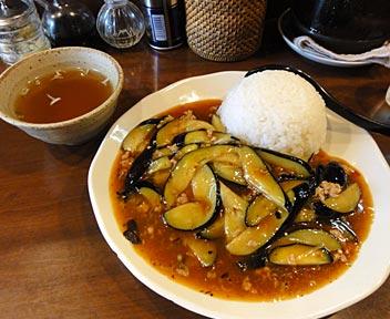 中国厨房 一番飯店/マーボー茄子丼