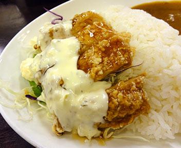 カレーショップ C&C 高田馬場店/チキン南蛮風カレー