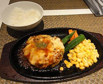 トンテキとハンバーグのお店 ミルク クラウン/milk crown/チーズハンバーグ(200g)