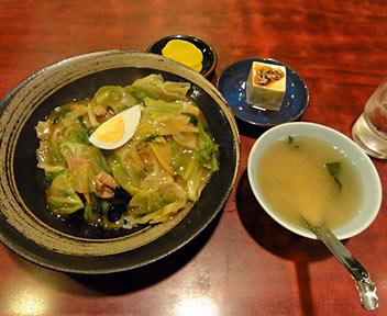 ラーメン ジャンボ/中華丼