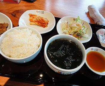 韓国食彩 にっこりマッコリ 高田馬場店/豚肉焼き定食