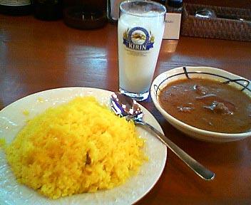 インド料理 GREAT INDIA/マトンカレー