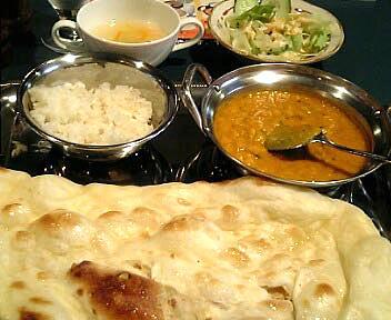 インド・パキスタン料理 ラザニ/RASANI/ダール チャナ マサラカレー