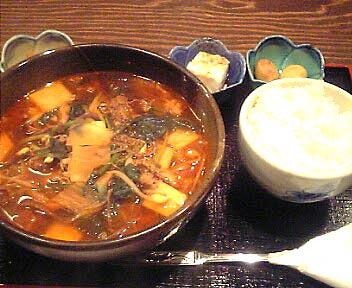 韓国家庭料理 ノワナ/ユッケジャンらーめんのランチセット